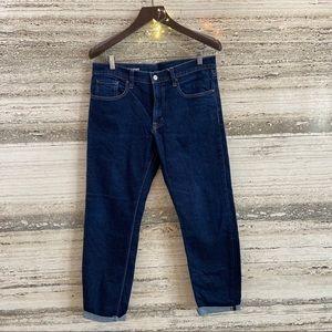 MUJI Men's tapered denim jeans Size 32
